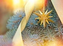 Kerstmisdecoratie - Kersttijd Stock Afbeeldingen
