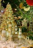 Kerstmisdecoratie, Las Vegas, Nevada royalty-vrije stock foto's