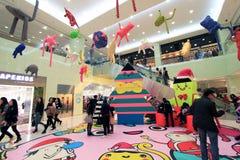 Kerstmisdecoratie van de Harboutstad Stock Foto