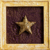 Kerstmisdecoratie van het frame Royalty-vrije Stock Foto's