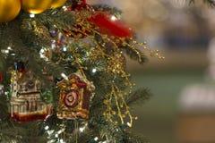 Kerstmisdecors Royalty-vrije Stock Fotografie
