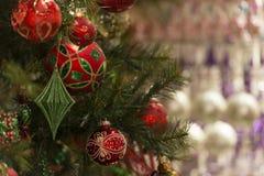 Kerstmisdecors Stock Afbeeldingen