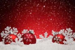 Kerstmisdeocoration Royalty-vrije Stock Foto's