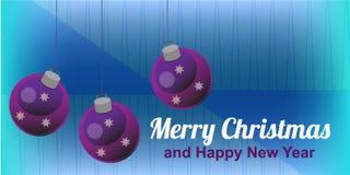 Kerstmisdl kaart Royalty-vrije Stock Afbeeldingen