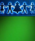 Kerstmisdocument achtergrondtextuur, papercraft thema Royalty-vrije Stock Afbeeldingen