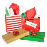 Kerstmisdozen en Zakken Royalty-vrije Stock Afbeelding
