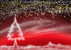 Kerstmisdroom Stock Foto