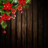 Kerstmiselementen voor uw ontwerpen Royalty-vrije Stock Fotografie