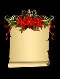 Kerstmiselementen voor uw ontwerpen Royalty-vrije Stock Foto