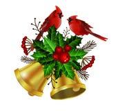 Kerstmiselementen voor uw ontwerpen vector illustratie