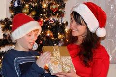 Kerstmisfamilie Royalty-vrije Stock Fotografie