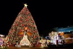 Kerstmisfestival en Nieuwe jarenviering Stock Foto's