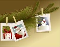 Kerstmisfoto's Royalty-vrije Stock Afbeeldingen