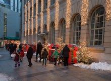 Kerstmisgang in Zürich Royalty-vrije Stock Fotografie