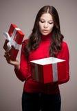 Kerstmisgeheimzinnigheid. Royalty-vrije Stock Afbeelding