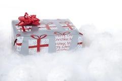 Kerstmisgift Stock Afbeeldingen