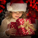 Kerstmisgift royalty-vrije stock foto