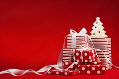 Kerstmisgiften stock afbeelding