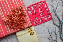Kerstmisgiften Stock Afbeeldingen