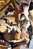 Kerstmisgiften bij markt in Tallinn royalty-vrije stock afbeeldingen