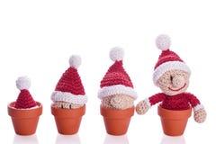Kerstmisgnoom Stock Foto's