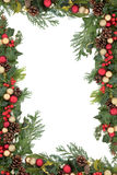 Kerstmisgrens stock afbeeldingen