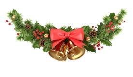 Kerstmisgrens van spartakken stock illustratie