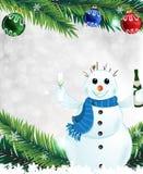 Kerstmisgroeten Royalty-vrije Stock Foto