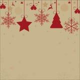 Kerstmishulpmiddelen stock foto's