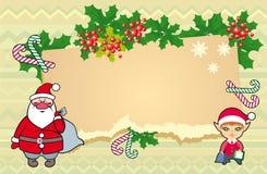 Kerstmisillustratie. Stock Afbeelding