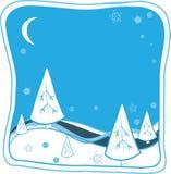 Kerstmisillustratie van het beeldverhaal Stock Foto's