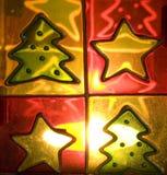 Kerstmiskaars Stock Foto