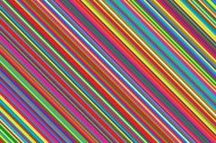 Kerstmiskaars, lollypatroon Gestreepte diagonale achtergrond met gehelde lijnen Gestreepte achtergrond Vectorillustratie royalty-vrije illustratie