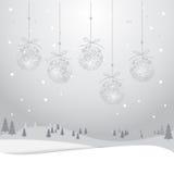 Kerstmiskaart 3_13 Royalty-vrije Stock Fotografie