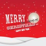 Kerstmiskaart 30 14 nov. 2 royalty-vrije illustratie