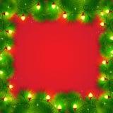 Kerstmiskader Stock Foto's