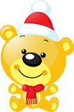 Kerstmiskarakter - de leuke vector draagt Stock Foto