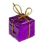 Kerstmiskerstmis stelt en speelgoed dat op witte achtergrond wordt geïsoleerd voor Royalty-vrije Stock Foto's