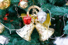 Kerstmisklok Stock Fotografie