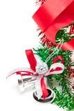 Kerstmisklokken. Royalty-vrije Stock Afbeeldingen