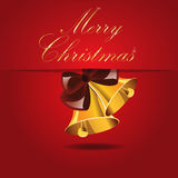 Kerstmisklokken Stock Foto's