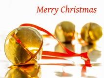 Kerstmisklokken Royalty-vrije Stock Foto's