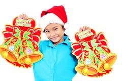 Kerstmisklokken Stock Afbeeldingen