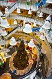 Kerstmisklokken als decoratie Stock Foto