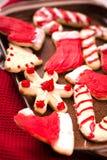 Kerstmiskoekjes Royalty-vrije Stock Fotografie