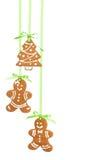 Kerstmiskoekjes Royalty-vrije Stock Foto