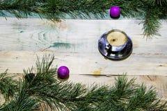 Kerstmiskoffie royalty-vrije stock foto's