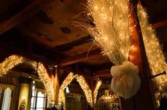 Kerstmiskoffie in Letland Royalty-vrije Stock Fotografie