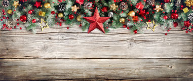 Kerstmiskopbal - Grens van Spartakken en Snuisterijen Stock Fotografie