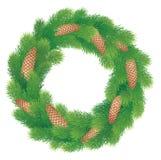 Kerstmiskroon Stock Afbeeldingen